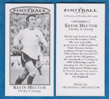 Derby County Kevin Hector England